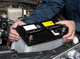 diagnose and replace car battery